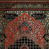 پلاکارد عمودی یا ابا عبدالله الحسین قرمز کد 214